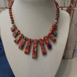 Colorful Turkey Turquoise Necklace